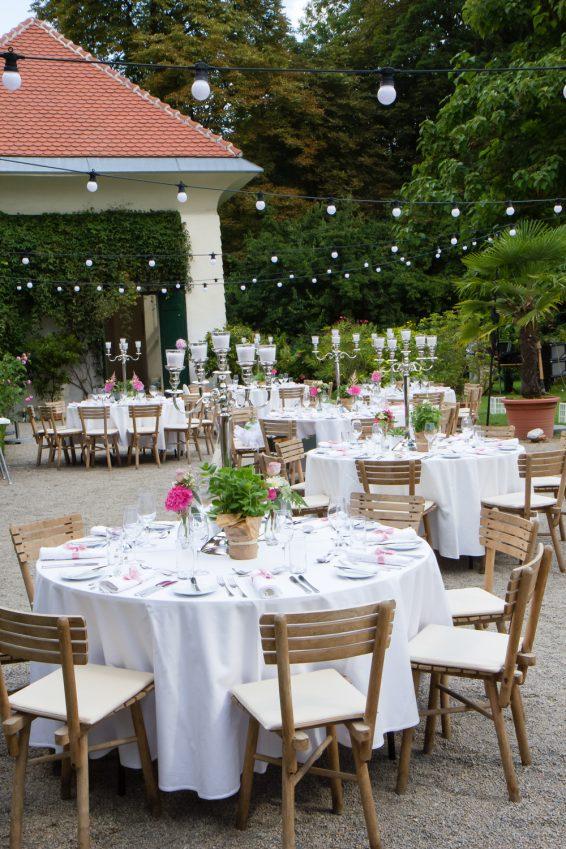 Hochzeitsfotografie - Vintagehochzeit Schlosspark Mühlbach am Manhartsberg