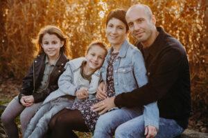 Familienfoto - Herbst in Poysdorf Niederösterreich